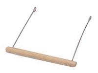 Dřevěná houpačka, bidýlko