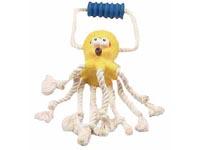 Chobotnice s bavlněnými uzly a rukojetí