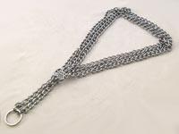 Obojek řetěz polostahovací trojřadý