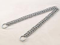 Obojek řetěz stahovací dvojřadý