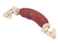 Veselý párek na bavlněném uzlíku 20cm