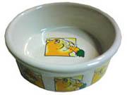 Porcelánová miska, motiv morče