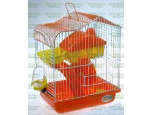 Klec pro křečky s výbavou 22,5x17x28,5cm