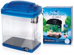 Hailea akvarijní komplet FC200-2, modrá, 4l