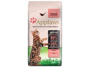 Krmivo APPLAWS Dry Cat Chicken & Salmon 7,5kg