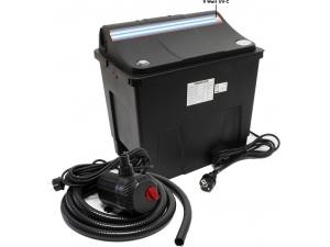 Jezírková filtrace C-200A s UV lampou a čerpadlem