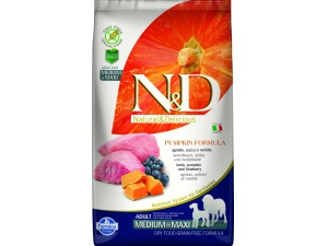 N&D Grain Free Dog Adult M/L Pumpkin Lamb & Blueberry