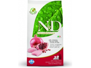N&D Grain Free Dog Puppy S/M Chicken & Pom