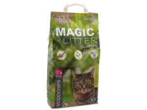 Kočkolit MAGIC CAT Litter Woodchips 10l (4,3kg)
