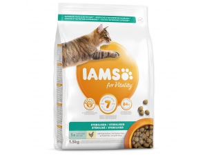 IAMS for Vitality Light in Fat Cat Food with Fresh Chicken
