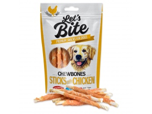 BRIT Let´s Bite Chewbones Sticks with Chicken