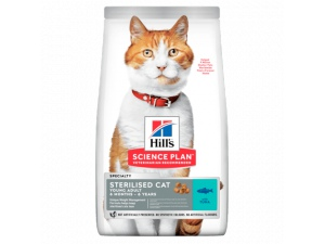 Hills Science Plan Feline Young Adult Sterilised Tuna NOVÝ
