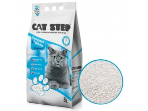 Cat Step Compact White Original 5l