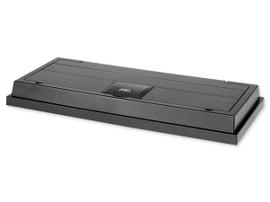 Akvarijní kryt Duolux 80 x 35 černý, 2x18W