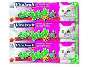 Cat Stick Mini Ente + Kaninchen 3ks