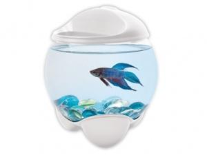 Akvárium TETRA Betta Bubble bílé