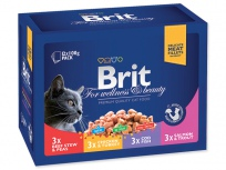 BRIT Premium Cat Family Plate kapsičky 12ks