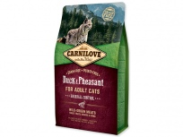 CARNILOVE Duck and Pheasant adult cats Hairball Control