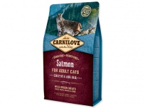 CARNILOVE Salmon Adult Cats Sensitive and Long Hair