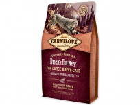 CARNILOVE Duck and Turkey Large Breed cats – Muscles, Bones, Joints