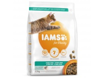 IAMS for Vitality Light in Fat Cat Food with Salmon 1,5kg