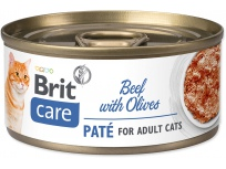 Konzerva BRIT Care Cat Beef Paté with Olives 70g
