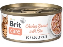 Konzerva BRIT Care Cat Chicken Breast with Rice 70g