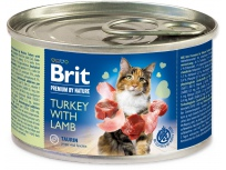 Konzerva BRIT Premium by Nature Turkey with Lamb 200g