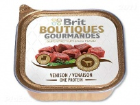 BRIT Boutiques Gourmandes Venison Small One Meat 150g